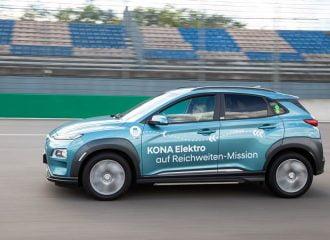 Hyundai Kona Electric διένυσε 1.026 χλμ. με μια φόρτιση