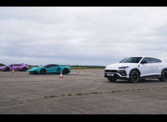 «Ταυρομαχίες» με Aventador, Huracan και Urus (+video)