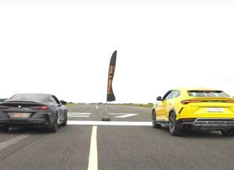 Μονομαχία M8 Competition-Lamborghini Urus (+video)