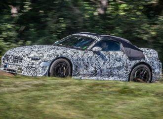 Πρώτες επίσημες εικόνες της νέας Mercedes SL