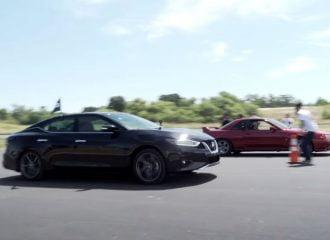 Nissan Maxima κοντράρει Skyline R32 (+video)