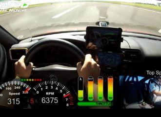 0-315 χλμ./ώρα με Opel Calibra Turbo (+video)