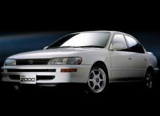 Το πιο σπάνιο Toyota Corolla TRD 2000 2.0 λτ. 180 PS