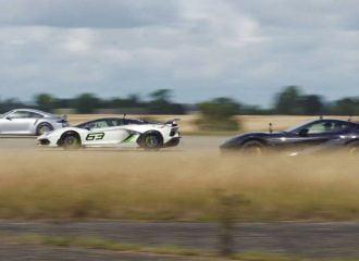 911 Turbo S «γειώνει» Aventador SVJ και 812! (+video)