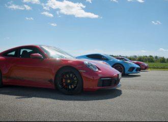 Η 911 Carrera S συνετίζει τις Corvette και Supra (+video)