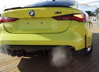 Εκκίνηση και ξερογκαζιές με τη νέα BMW M4