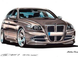 Σχεδιαστής της Lada είχε τη νέα μάσκα BMW το 2005!