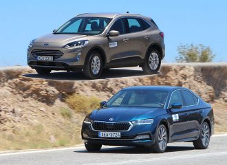 Ford Kuga ή Skoda Octavia diesel στα ίδια λεφτά;