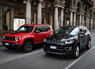 Νέα Jeep Renegade και Compass 1.3 λτ. Turbo έως 240hp
