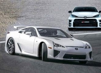 Τι κοινό έχει το Toyota GR Yaris με το Lexus LFA;