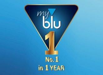 No.1 το ηλεκτρονικό τσιγάρο myblu σε 1 χρόνο