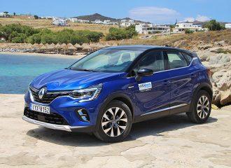 Δοκιμή Renault Captur 1.5 Blue dCi 115 hp