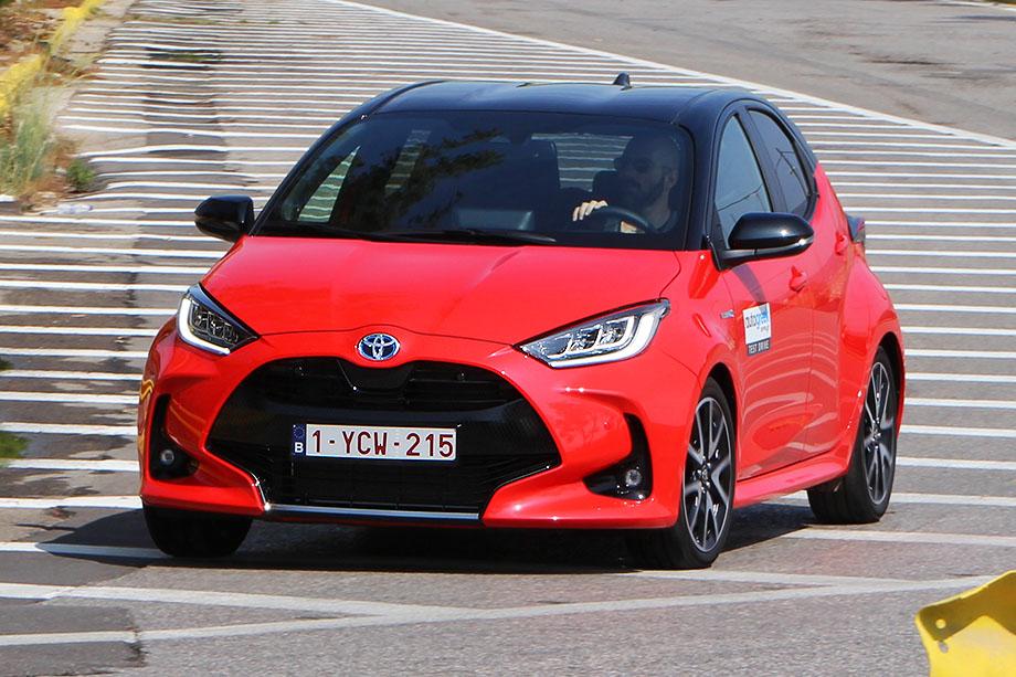 We drive the new Toyota Yaris Hybrid – Autogreek.News
