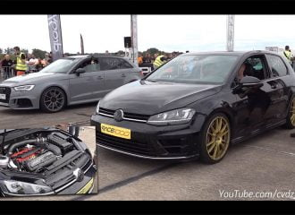 VW Golf R με κινητήρα RS 3 κοντράρεται με RS 3