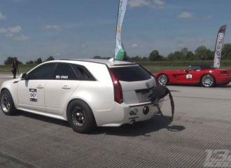Cadillac 1.700 ίππων έχει το τούρμπο πίσω! (+video)