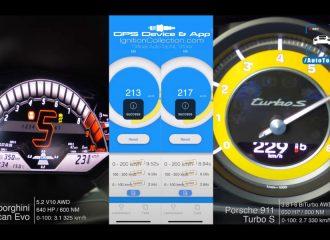 Τιτανομαχία: Huracan EVO vs 911 Turbo S (+video)