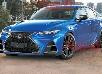 Το νέο Lexus IS F θα επιστρέψει με ατμοσφαιρικό V8