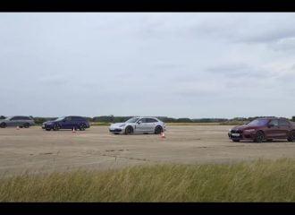 M8 «σβήνει» RS 6, Panamera και E63 (+video)