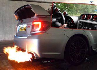 Πυρ και μανία Subaru WRX STI 370 hp (+video)