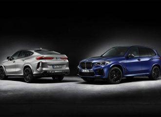 Νέες BMW X5 M και Χ6 Μ Competition First Edition