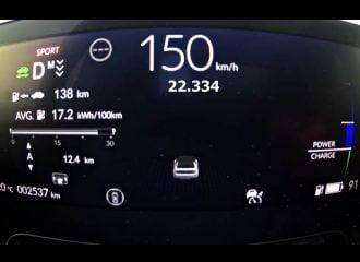 Ηλεκτρίζουν οι επιταχύνσεις του Honda e (+video)