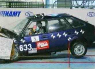 Πόσο γερό ήταν το Lada Samara σε τρακάρισμα;