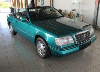 Αγέραστη Mercedes E 200 Cabrio του '97 με 8.030 χλμ.!