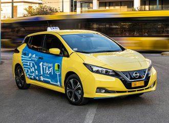 Το πρώτο ηλεκτρικό ταξί στην Ελλάδα είναι γεγονός!