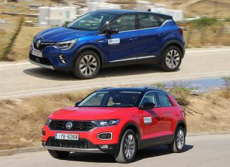 Renault Captur 1.5 Blue dCi Vs VW T-Roc 1.6 TDI