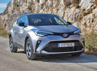 Δοκιμή Toyota C-HR 1.8 Hybrid 122 PS