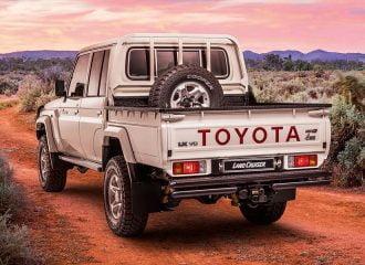 Αγροτικό Toyota Land Cruiser παντός εδάφους