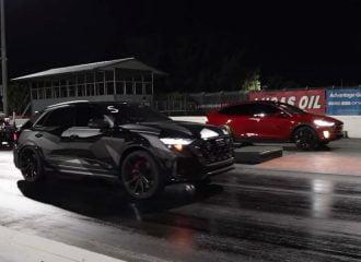 Audi RS Q8 800HP «έσπασε» Tesla Model X (+video)