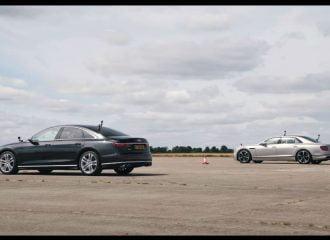 Κοστουμάτη μάχη μεταξύ Audi και Bentley (+video)