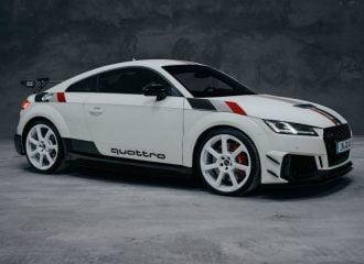 «Φαρμακείο» το νέο Audi TT RS 40 Years Of Quattro