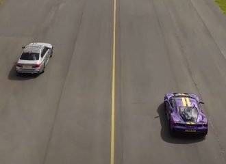 BMW M8 800HP «ρημάζει» Ferrari 488 Pista (+video)