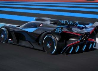 Πρωτόγνωρη κατασκευή η νέα Bugatti Bolide! (+video)