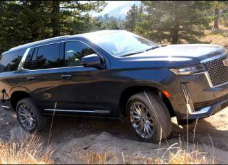Πάει εκτός δρόμου η Cadillac Escalade; (+video)