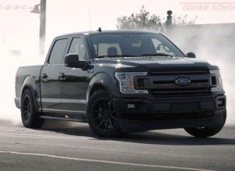 Ford F-150 750 ίππων προκαλεί νέφος (+video)