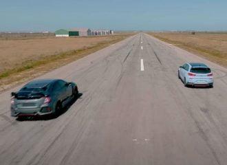 «Ματσάρα» μεταξύ i30 N και Civic Type R (+video)