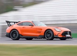 «Θερίζει» η Mercedes-AMG GT Black Series (+video)