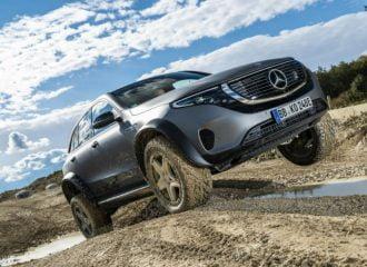 Ηλεκτρικό «κομάντο» η νέα Mercedes EQC 4×4²