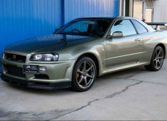Ανέγγιχτο Nissan Skyline R34 για 411.000 ευρώ!