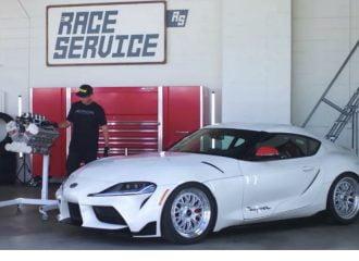Ετοιμάζεται Toyota Supra με μοτέρ V10 από F1! (+video)