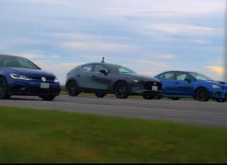 Mazda3 Turbo vs Golf R vs WRX μέχρις εσχάτων