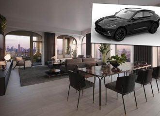 Τσάμπα Aston Martin DBX με ευήλιο διαμέρισμα