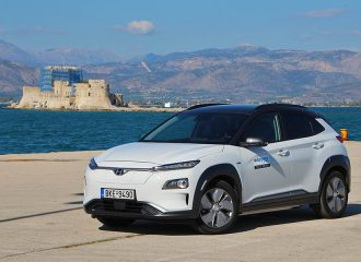 Δοκιμή Hyundai Kona Electric 64 kWh 204 PS