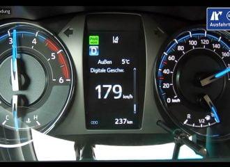 Φουλ πετρέλαια με το νέο Toyota Hilux 204 PS (+video)