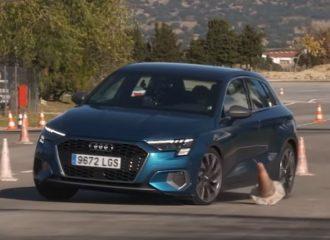 «Μουτρωμένο» το Audi A3 στον τάρανδο (+video)
