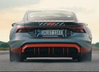 Το Audi RS e-tron GT εκτοξεύεται (+video)