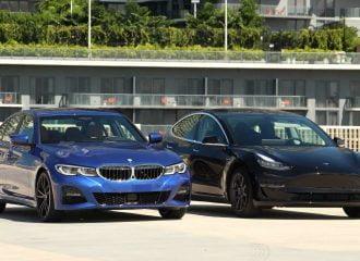 Φθηνότερη σε χρήση η BMW 330i από Tesla Model 3